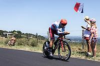 Marco Haller (AUT/Katusha Alpecin)<br /> <br /> Stage 13: ITT - Pau to Pau (27.2km)<br /> 106th Tour de France 2019 (2.UWT)<br /> <br /> ©kramon