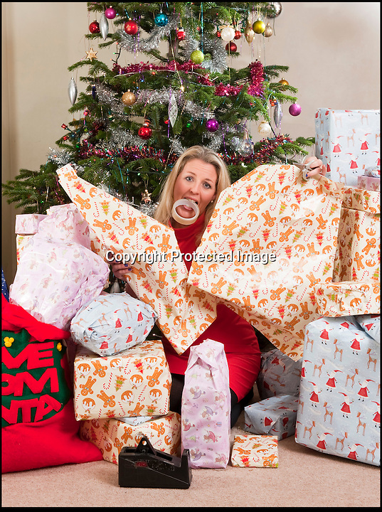 BNPS.co.uk (01202 558833)<br /> Pic: PhilYeomans/BNPS<br /> <br /> Think your Xmas is hectic??<br /> <br /> Rayna Warriner(39) from Bournemouth in Dorset has nine children to contend with every festive season, and even such simple tasks as getting the tree ready takes a military style operation.<br /> <br /> Present buying starts in the January sales, wrapping is a 3 day operation Xmas dinner is for 12...but at least the tree only takes a minute to dress, with 9 willing helpers.<br /> <br /> And both Stress manager Rayna and Police officer husband Malcolm manage to hold down full time jobs after packing the kids off to school every day.