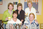 HOSPICE: Enjoying a cup of coffee in aid of the Hospice Foundation at Keel Community Centre on Thursday last were, front l-r: Kitty Hanafin and Joan Nagle. Back, l-r: Jackie Nagle, Julie Foley, Hannah Foley.   Copyright Kerry's Eye 2008