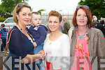 Emily Maloney, Kevin Maloney, Evelyn O'Sullivan and Annette Carmody pictured at the Centenary of Kilflynn school on Sunday.