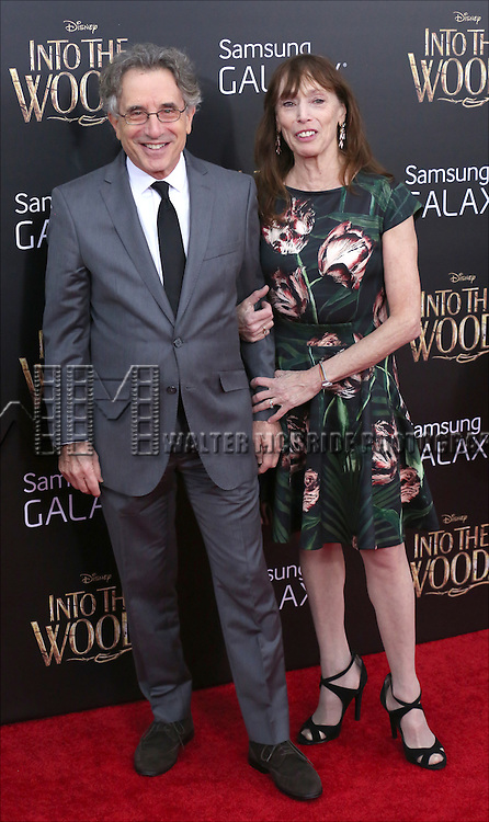 Chip Zien and wife Susan attends the 'Into The Woods' World Premiere at Ziegfeld Theater on December 8, 2014 in New York City.