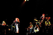 Fleetwood Mac - L-R: Christine McVie, Stevie Nicks, John McVie, Lindsay Buckingham, Mick Fleetwood on drumms - performing live on the Tusk Tour at Wembley Arena in London UK - 19 Jun 1980.  Photo credit: Alan Perry/IconicPix