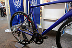 Campagnola new 12 speed groupsets on display at Bespoked 2018 UK handmade bicycle show held at Brunel's Old Station & Engine Shed, Bristol, England. 21st April 2018.<br /> Picture: Eoin Clarke | Cyclefile<br /> <br /> <br /> All photos usage must carry mandatory copyright credit (© Cyclefile | Eoin Clarke)