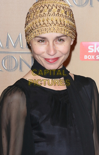 LONDON, ENGLAND - MARCH 18: Tara Fitzgerald arrives for the world premiere of Game of Thrones Season 5 at Tower of London on March 18, 2015 in London, England<br /> CAP/ROS<br /> &copy; Steve Ross/Capital Pictures