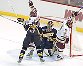 Brock Bradford, Rob LaLonde, Jeff Healey, Nathan Gerbe - Boston College defeated Merrimack College 3-0 with Tim Filangieri's first two collegiate goals on November 26, 2005 at Kelley Rink/Conte Forum in Chestnut Hill, MA.