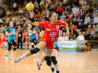 Handball Frauen Final4 DHB Pokal Halbfinale 2011/2012, TSV Bayer 04 Leverkusen - Buxtehuder SV