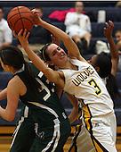 Lake Orion at Clarkston, Girls Varsity Basketball, 12/2/11