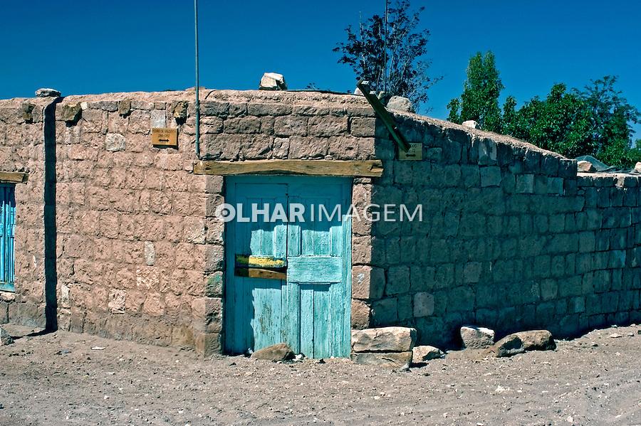 Casa em Toconao no Deserto do Atacama. Chile. 2004. Foto de Maristela Colucci.