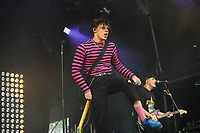 LONDON, ENGLAND - JULY 1: Yungblud (Dominic Harrison) performing at 'Community', Finsbury Park on July 1, 2018 in London, England.<br /> CAP/MAR<br /> &copy;MAR/Capital Pictures