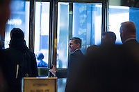 Retired United States Army lieutenant general, Mike Flynn leaves Trump Tower in Manhattan, New York, U.S., on Friday, November 18, 2016. <br /> Credit: John Taggart / Pool via CNP /MediaPunch
