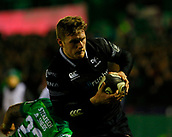 9th February 2018, Galway Sportsground, Galway, Ireland; Guinness Pro14 rugby, Connacht versus Ospreys; Dafydd Howells goes over the line for an Ospreys try in the 20th minute