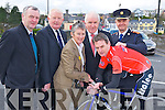 Pictured at the launch of Ras Mumhan in Killorglin on Friday were Tadhg Moriarty, Frank Hayes, Mary Concannon, minister Jimmy Deenihan, Paul Griffin and Chief Superintendent Pat O'Sullivan. ........