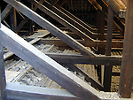 The inside of the roof of ST Peters church of Ireland in Peter street..Picture by Fran Caffrey Newsfile