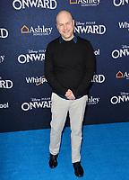 "LOS ANGELES, CA: 18, 2020: Dan Scanlon at the world premiere of ""Onward"" at the El Capitan Theatre.<br /> Picture: Paul Smith/Featureflash"