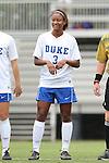 14 September 2014: Duke's Imani Dorsey. The Duke University Blue Devils hosted the Louisiana State University Tigers at Koskinen Stadium in Durham, North Carolina in a 2014 NCAA Division I Women's Soccer match. Duke won the game 1-0.