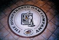 Custom mosaic retail signs - Honey Baked Ham Medallion