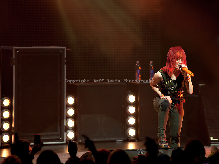 Paramore live in concert at Verizon Theatre on September 10, 2010 in Grand Prairie, TX.