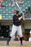 Indianapolis Indians outfielder Alex Presley during a game vs. the Rochester Red Wings at Frontier Field in Rochester, New York;  July 17, 2010.   Indianapolis defeated Rochester 10-7.  Photo By Mike Janes/Four Seam Images