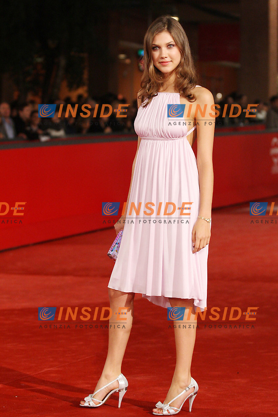 Chiara PAoli<br /> <br /> Third edition of the Rome International film festival<br /> <br /> Roma 25/10/2008 <br /> <br /> Red carpet  'Un Gioco da Ragazze&quot;<br /> <br /> Photo Antonietta Baldassarre Insidefoto