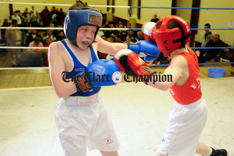 County Championships Ennis Boxing Club.Pic Arthur Ellis.