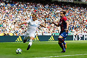 9th September 2017, Santiago Bernabeu, Madrid, Spain; La Liga football, Real Madrid versus Levante; Lucas Vaazquez Iglesias Real Madrid crosses