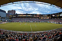 Portland, Oregon - Wednesday June 22, 2016: A general view of Providence Park during a regular season National Women's Soccer League (NWSL) match at Providence Park.