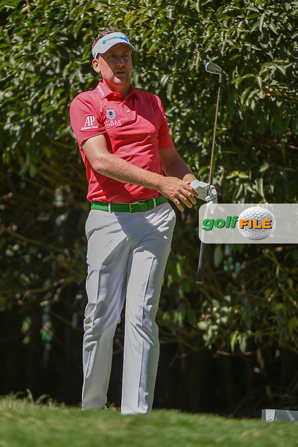 Ian Poulter (GBR) watches his tee shot on 2 during round 1 of the World Golf Championships, Mexico, Club De Golf Chapultepec, Mexico City, Mexico. 2/21/2019.<br /> Picture: Golffile | Ken Murray<br /> <br /> <br /> All photo usage must carry mandatory copyright credit (© Golffile | Ken Murray)