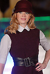 A model walks the runway wearing fashions from Billy Reid at the Fall Fashion show at the Galleria Thursday  Oct. 16,2008. (Dave Rossman/For the Chronicle)