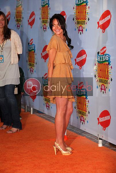LIndsay Lohan<br />at Nickelodeon's 19th Annual Kids' Choice Awards. Pauley Pavilion, Westwood, CA. 04-01-06<br />Dave Edwards/DailyCeleb.com 818-249-4998