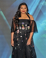 Mindy Kaling at the &quot;A Wrinkle In Time&quot; European film premiere, BFI Imax, Waterloo, London, England, UK, on Tuesday 13 March 2018.<br /> CAP/CAN<br /> &copy;CAN/Capital Pictures /MediaPunch ***NORTH AND SOUTH AMERICAS ONLY***