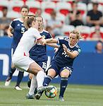 09.06.2019 England v Scotland Women: Keira Walsh and Erin Cuthbert