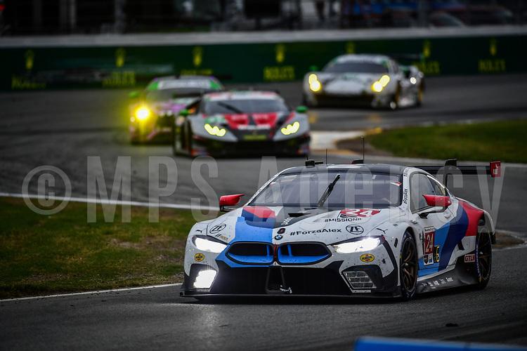 #24 BMW TEAM RLL (USA) BMW M8 GTE GTLM JESSE KROHN (FIN) JOHN EDWARDS (USA) CHAZ MOSTERT (AUS) ALEX ZANARDI (ITA)