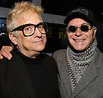 Ken Fallin and Stanley Steinberg attend the DGF Reception for Andrew Lippa & Friends at Landmarc on February 1, 2017 in New York City.