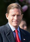 United States Senator Richard Blumenthal (Democrat of Connecticut), member, US Senate Judiciary Committee, prior to US President Barack Obama introducing Judge Merrick Garland, chief justice for the US Court of Appeals for the District of Columbia Circuit, as his nominee to replace the late Associate Justice Antonin Scalia on the U.S. Supreme Court in the Rose Garden of the White House in Washington, D.C. on Wednesday, March 16, 2016. <br />