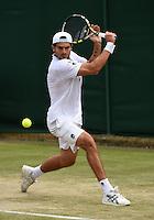 Wimbledon, 26/6/2014<br /> <br /> BOLELLI, Simone (ITA)<br /> <br /> © Ray Giubilo/ Tennis Photo Network