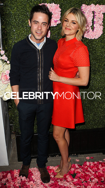WEST HOLLYWOOD, CA, USA - MAY 13: Kevin Manno, Ali Fedotowsky at the Pump Lounge Grand Opening Hosted By Lisa Vanderpump And Ken Todd held at Pump Lounge on May 13, 2014 in West Hollywood, California, United States. (Photo by Celebrity Monitor)