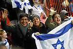 Israel's supporters during FIFA World Cup 2018 Qualifying Round match. March 24,2017.(ALTERPHOTOS/Acero)