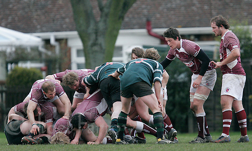 01 MAR 2008 - SCUNTHORPE, UK - Scunthorpe RUFC  v Loughborough Students RUFC. (PHOTO (C) NIGEL FARROW)