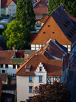 Altsatdt, Speicher nördlich der Marktkirche St. Jacobi, Einbeck, Niedersachsen, Deutschland, Europa<br /> Old city and warehouse north of St. jacobi, Einbeck, Lower Saxony, Germany, Europe