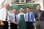 Richard Murphy, area manager Londis, Austin Adams, Keith Shortt, Jim Argue, store manager and Frank Fergus, area manager Londis at the opening of Adams Londis in Bettystown..Picture Paul Mohan Newsfile