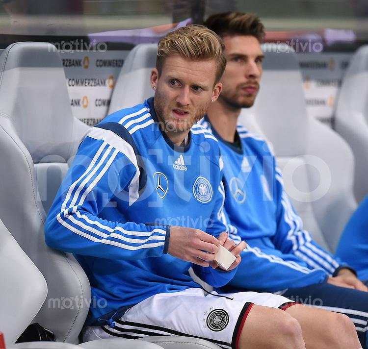 Fussball International EM 2016 Qualifikation  Gruppe D  in Frankfurt 04.09.2015 Deutschland - Polen Andre Schuerrle (Deutschland)