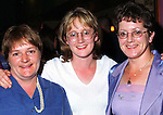 Patricia McArdle and Claire Sharkey, Bellurgan with May White, Cooley at the Tuohy family reunion held in the Clanbrassill Hotel.