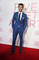 7 March 2019 - Los Angeles, California - Justin Baldoni. The Premiere Of Lionsgate's &quot;Five Feet Apart&quot; held at Fox Bruin Theatre. <br /> CAP/ADM/FS<br /> &copy;FS/ADM/Capital Pictures