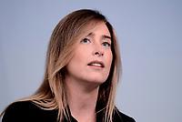 Roma, 15 Giugno 2017<br /> Maria Elena Boschi<br /> La Sottosegretaria alla Presidenza del Consiglio, Maria Elena Boschi, e la Ministra per la Semplificazione e la Pubblica Amministrazione hanno illustrato, in una conferenza stampa a Palazzo Chigi, la direttiva sul lavoro agile.