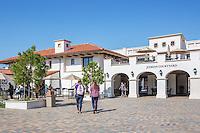 Judkins Courtyard at Vanguard University Costa Mesa California