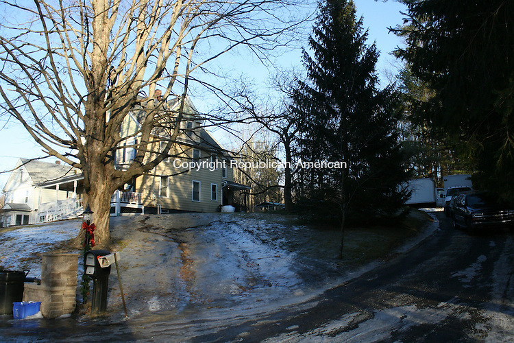 THOMASTON, CT, 20 January 2015-012015LW03 - The FBI were at the home of David Bertnagel in Thomaston following his arraignment Tuesday afternoon. Laraine Weschler Republican-American
