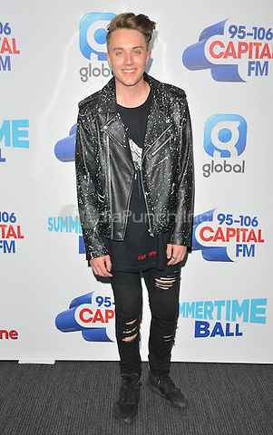 Roman Kemp at the Capital FM Summertime Ball in aid of the Help a London Child charity, Wembley Stadium, Wembley, London, England, UK, on Saturday 11 June 2016.<br /> CAP/CAN<br /> &copy;CAN/Capital Pictures /MediaPunch ***NORTH AND SOUTH AMERIcAS ONLY***