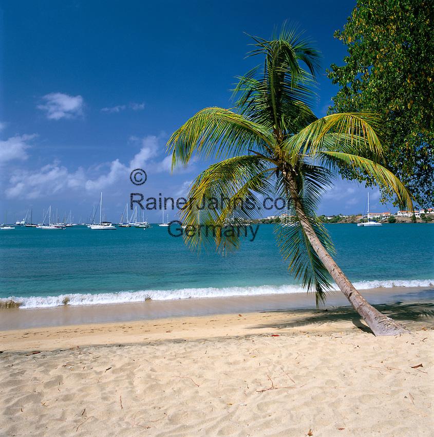 Karibik, Kleine Antillen, Grenada, Lance Aux Epines: Strand | Caribbean, Lesser Antilles, Grenada, Lance Aux Epines: Beach