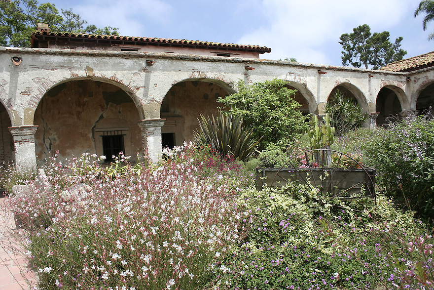 Archways at Mission at San Juan Capistrano