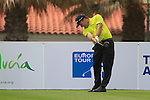 Thomas Levet (FRA) tees off on the 1st tee during Day 2 Friday of the Open de Andalucia de Golf at Parador Golf Club Malaga 25th March 2011. (Photo Eoin Clarke/Golffile 2011)